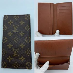 Louis Vuitton monogram long wallet